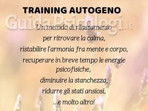 Training Autogeno Bergamo