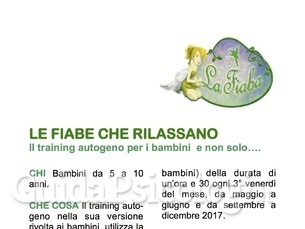 Training Autogeno per Bambini