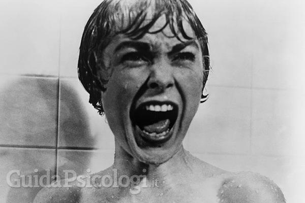 Dal film Psyco di Alfred Hitchcock.
