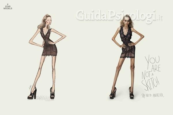Anche la moda contro anoressia e bulimia: la campagna di Star Models