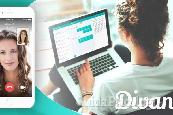 Divan: un'app utile e sicura per fare terapia online