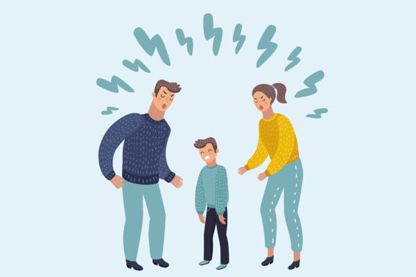 La realtà psichica del figlio con genitori altamente conflittuali