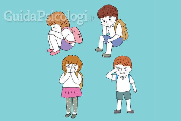 La paura di andare a scuola