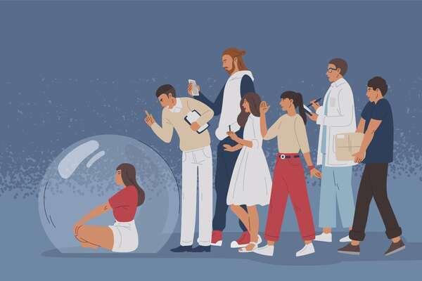 Distanza e spazio prossemico nei rapporti sociali