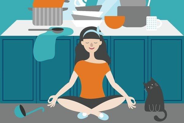 Riordinare e pulire la casa: terapia per il corpo e la mente