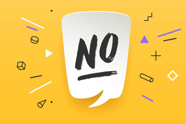 Saper dire NO: una questione di confini