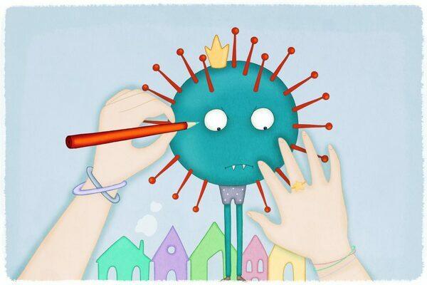 Emergenza Coronavirus: i bambini trovano tutto nel nulla.
