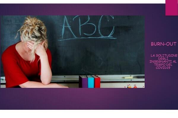 Burn out: la solitudine degli insegnanti