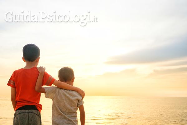 La rappresentazione infantile del rapporto  fraterno e amicale