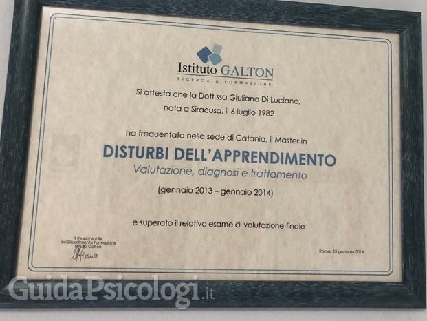 Master in disturbi dell'apprendimento