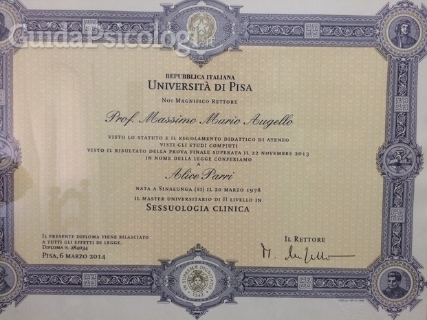 Master in Sessuologia clinica