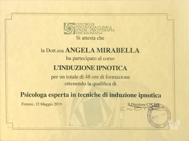Dott.ssa Angela Mirabella - Mg Lab Centro di Psicologia Applicata